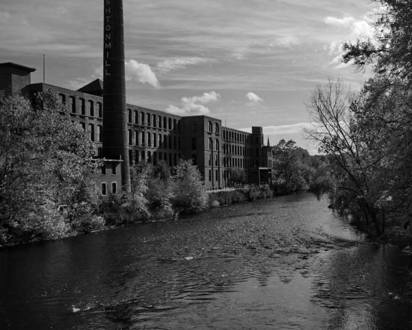 Old Mill Art Print featuring the photograph Old Mill by Barry Doherty