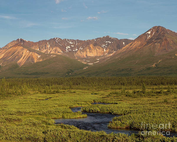 Alaska Art Print featuring the photograph A River Runs Through It by Ursula Lawrence