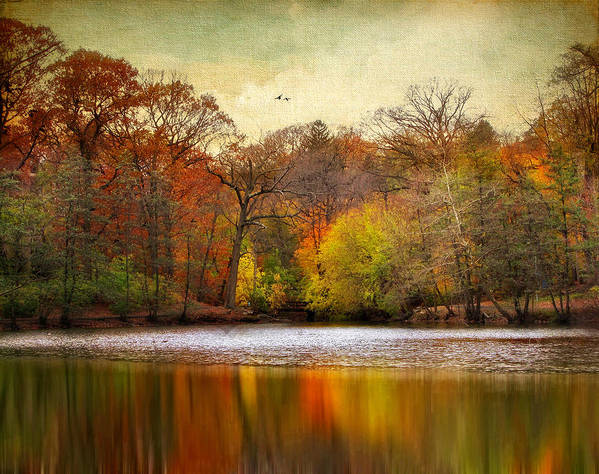 Autumn Art Print featuring the photograph Autumn Arises 2 by Jessica Jenney