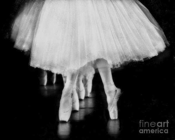 Ballet Art Print featuring the photograph Ballet Black And White by Kevin Moore