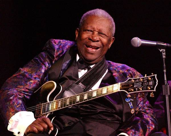 Bb King Art Print featuring the photograph Bb King 2008 by Bob Guthridge