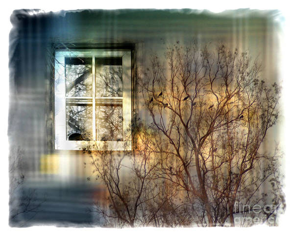 Tree Art Print featuring the digital art Broken Dreams by Chuck Brittenham