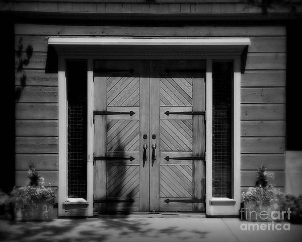 Door Art Print featuring the photograph Classic Doors by Perry Webster