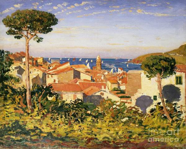 Collioure Print featuring the painting Collioure by James Dickson Innes