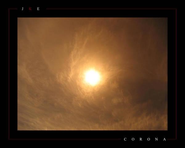 Sun Art Print featuring the photograph Corona by Jonathan Ellis Keys