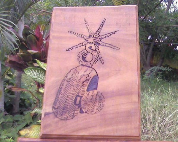 Art Print featuring the relief Espuela by Calixto Gonzalez