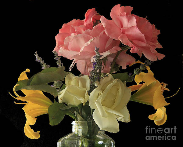 Flowers Art Print featuring the photograph f24 by Tom Griffithe