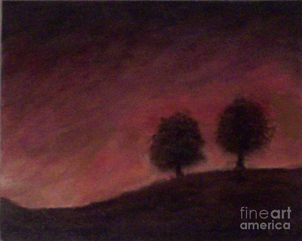 Tree Art Print featuring the painting Fall by Francis Bourque
