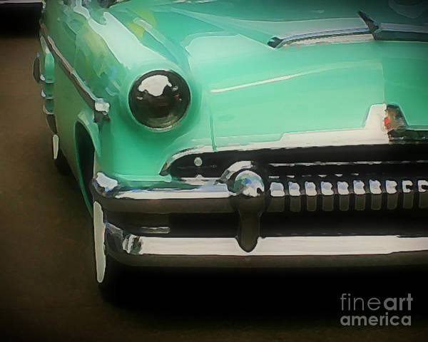Car Art Print featuring the photograph Fifties Ride by Perry Webster