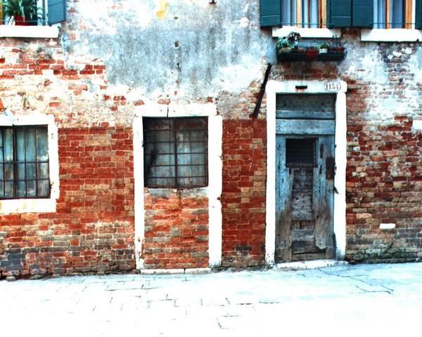 Homes Art Print featuring the photograph Ghetto Living Venice by Merton Allen