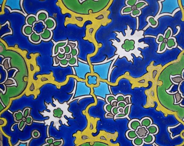 Iznik Tiles. 16th Art Print featuring the photograph Iznik Tiles In Topkapi Palace Istanbul by Gonul Engin YILMAZ