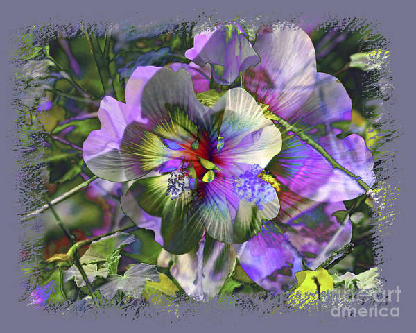 Flower Art Print featuring the photograph Kaleidoscope Pollen by Chuck Brittenham