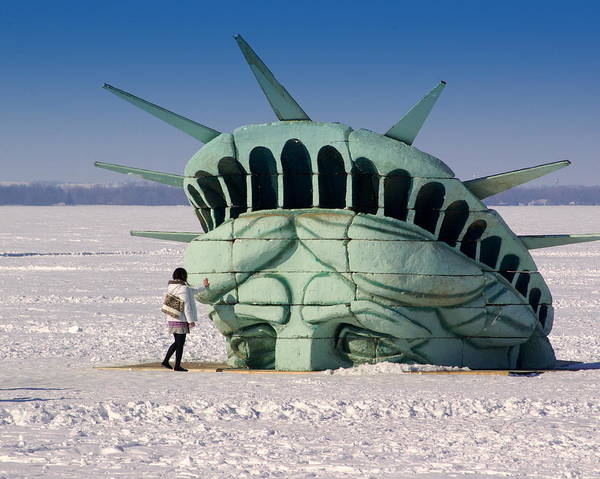 Statue Of Liberty Art Print featuring the photograph Liberty by Linda Mishler