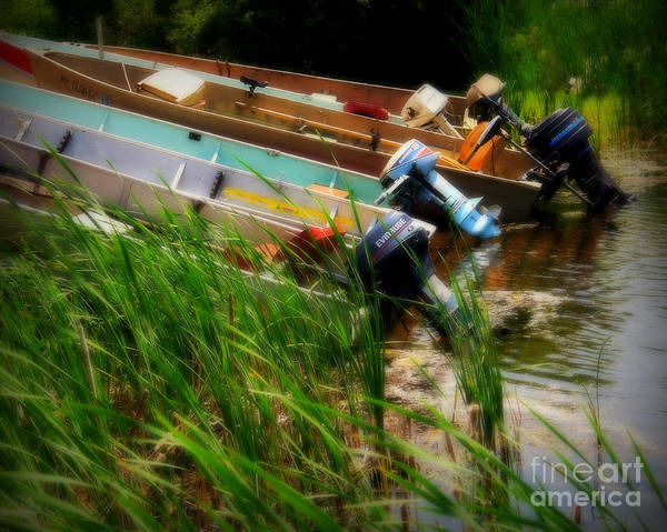 Boat Art Print featuring the photograph Minnesota Morning by Perry Webster