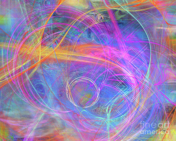 Mystic Beginning Art Print featuring the digital art Mystic Beginning by John Beck