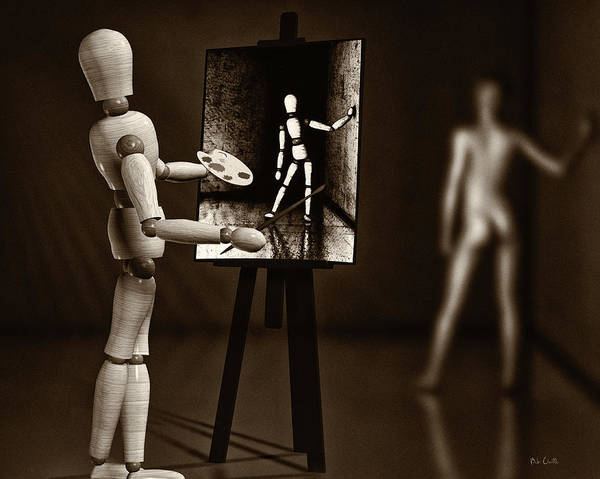 Naked Art Print featuring the photograph Nude Model by Bob Orsillo