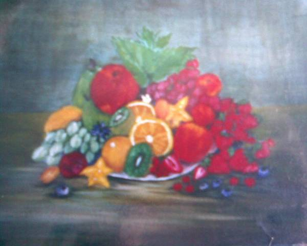 Obst Art Print featuring the painting Obst by Rosario Triglia