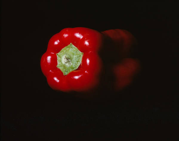 Red Pepper Art Print featuring the photograph Pepper by Jessica Wakefield