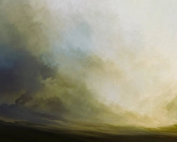 Lc Bailey Art Print featuring the mixed media Sea And Sky by Lonnie Christopher