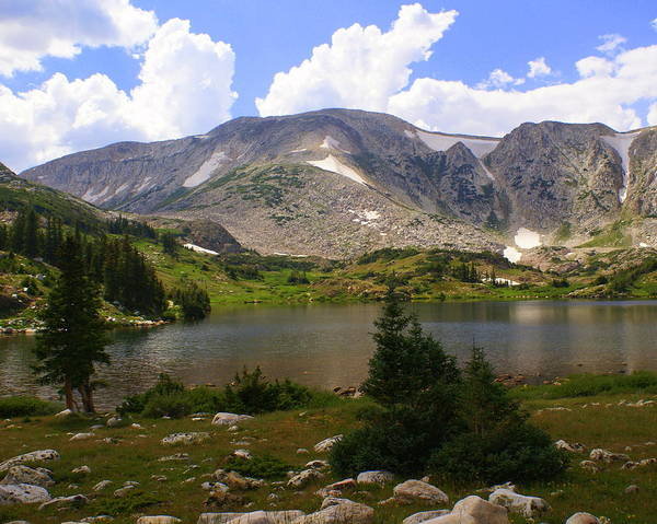 Mountain Print featuring the photograph Snowy Mountain Loop 9 by Marty Koch
