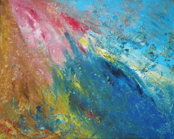 Inner World Print featuring the painting Steadfast by Christine Martin
