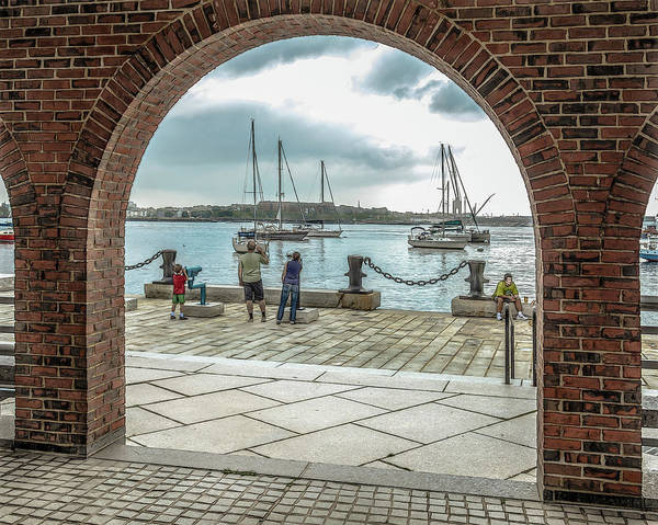 People Art Print featuring the photograph Sunday Watch by Erwin Spinner
