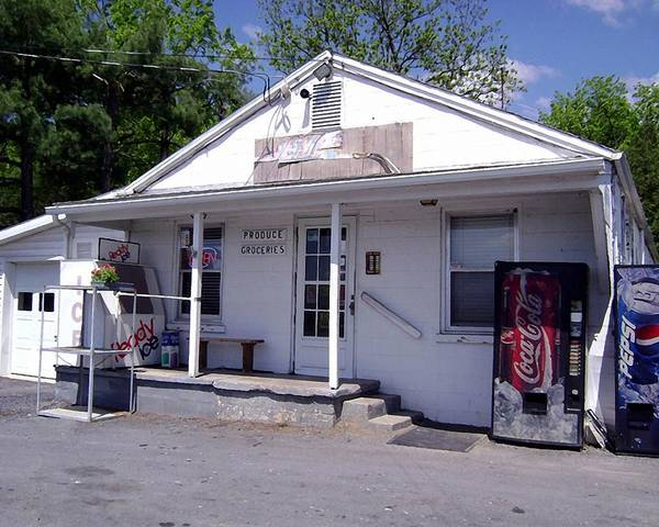 General Store Country Rustic Rural America Virginia Usa Art Print featuring the photograph The General Store by Susan Epps Oliver