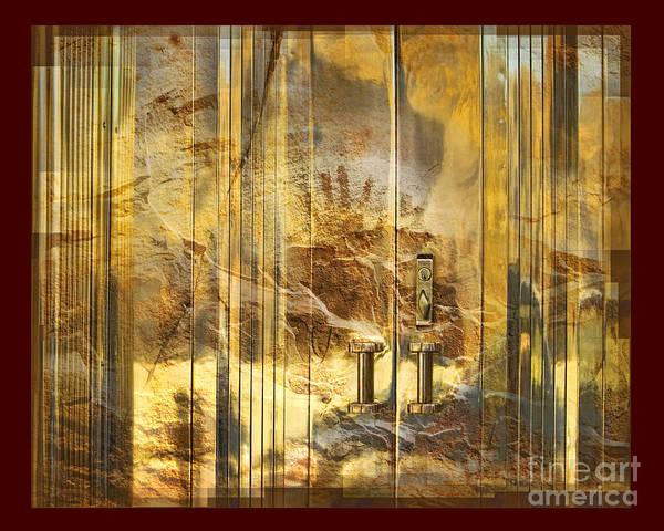 Conservation Art Print featuring the digital art The Hands Of Time by Chuck Brittenham