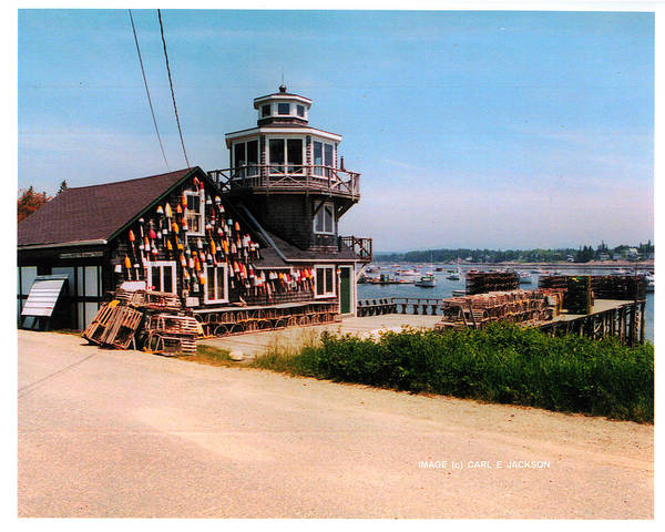 Docks Art Print featuring the photograph The Lobster Dock I by Carl Jackson