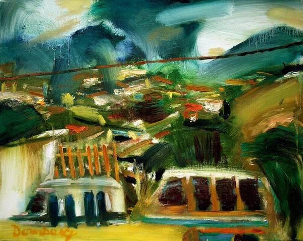 Dornberg Art Print featuring the painting Toledo by Bob Dornberg