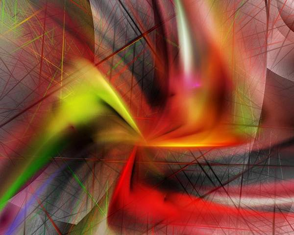 Digital Painting Art Print featuring the digital art Untitled 5-3-10-a by David Lane