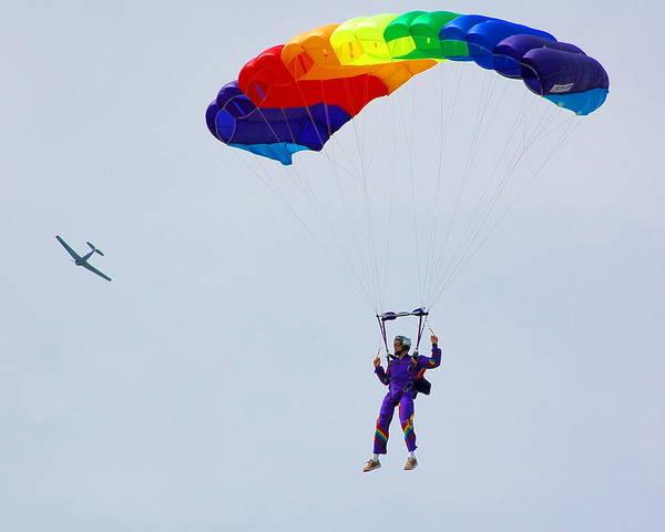 Parachute Art Print featuring the photograph Untitled by Jennifer Englehardt