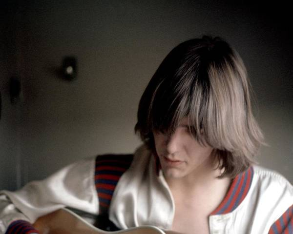 Singer Art Print featuring the photograph Gram Parsons In Chicago by Michael Ochs Archives