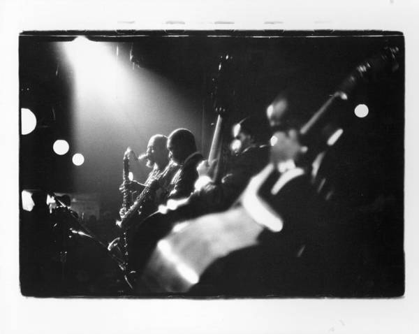 Music Art Print featuring the photograph Live In New York by Herb Snitzer