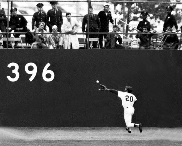 American League Baseball Art Print featuring the photograph N.y. Mets Vs. Baltimore Orioles. 1969 by New York Daily News Archive