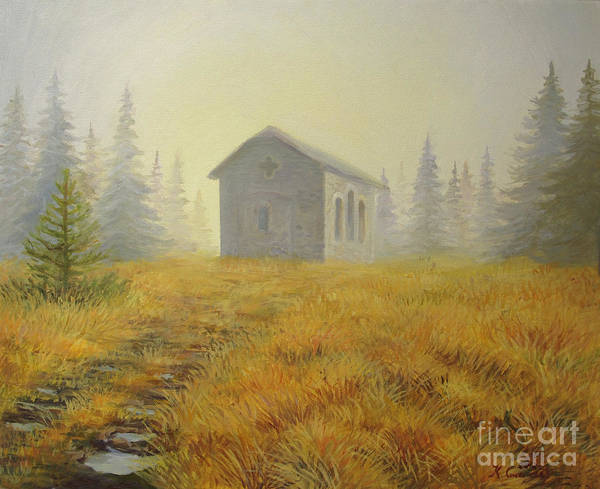 Art Art Print featuring the painting A Touch Of Faith by Kiril Stanchev