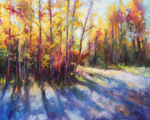 Alaska Art Print featuring the painting Growth by Talya Johnson