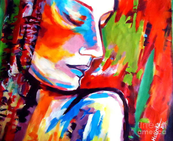 Art Art Print featuring the painting Insight by Helena Wierzbicki