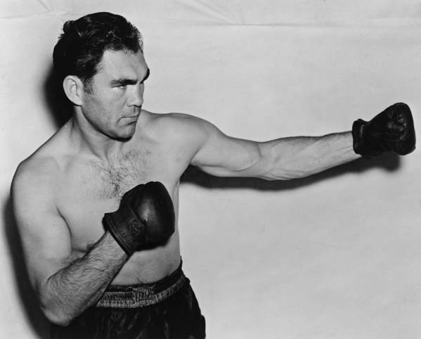 Max Schmeling Print featuring the photograph Max Schmeling 1938 by Mountain Dreams