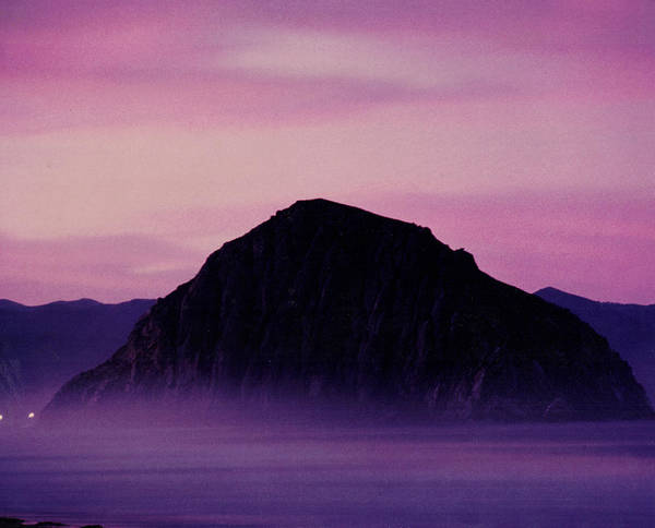Landscape Art Print featuring the photograph Morro Rock by Richard Collyer