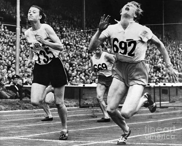 1948 Art Print featuring the photograph Olympic Games, 1948 by Granger