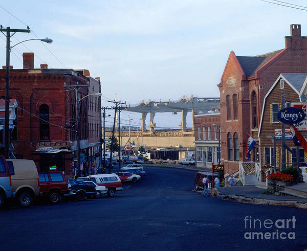 Eastport Art Print featuring the photograph Downtown Eastport Maine by Geri Harkin-Tuckett