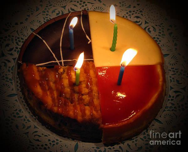 Cake Art Print featuring the photograph Happy Birthday by Patricia Januszkiewicz