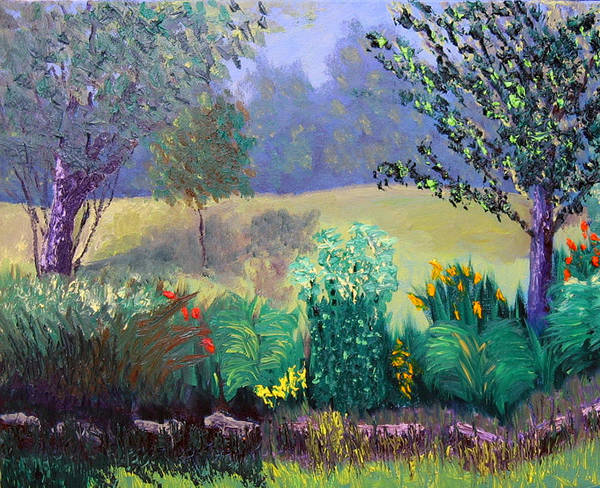 Landscape Art Print featuring the painting Sewp 6 23 by Stan Hamilton