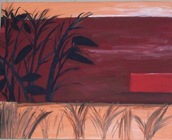 Nature Art Print featuring the painting Fall by Robyn Shulman