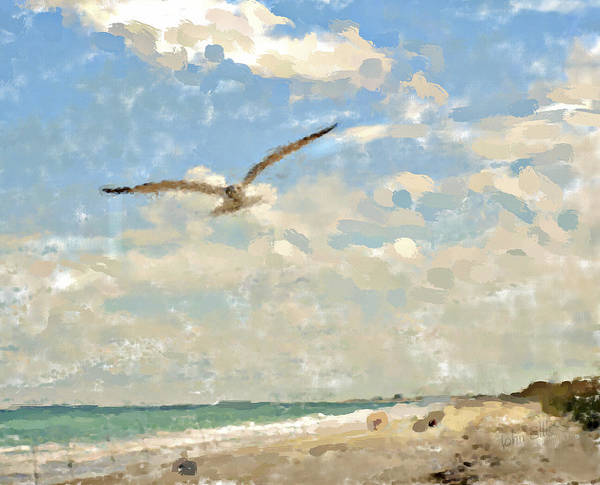 Nature Art Print featuring the photograph Flight From Canaveral by John Ellis
