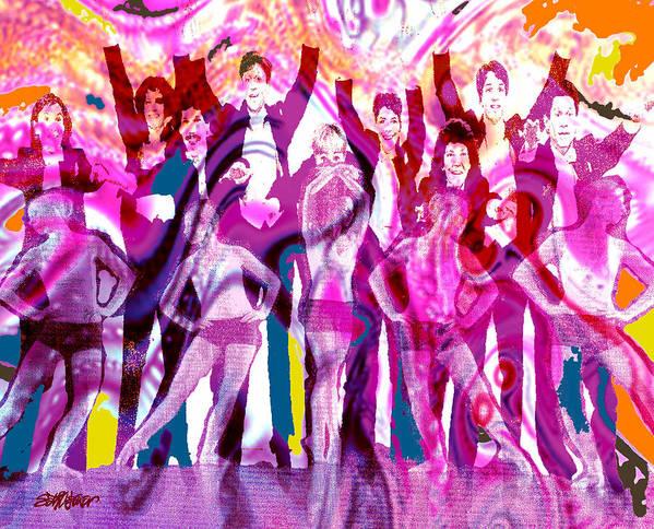Joy Art Print featuring the digital art Got To Dance by Seth Weaver