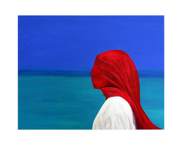 Red Art Print featuring the painting It Could Be You by Fiona Jack
