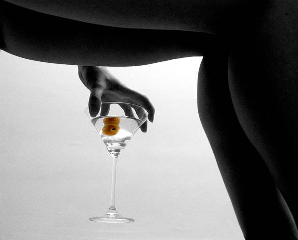 Legs Martini Cocktail Art Print featuring the photograph Martini by Jon Daly