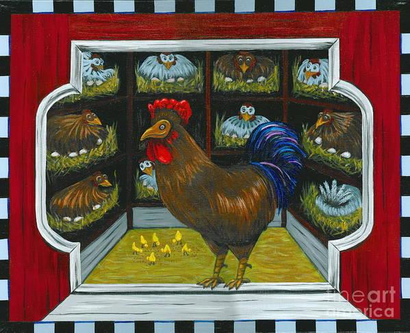 Country Art Print featuring the painting Meet Bob by Gail Finn
